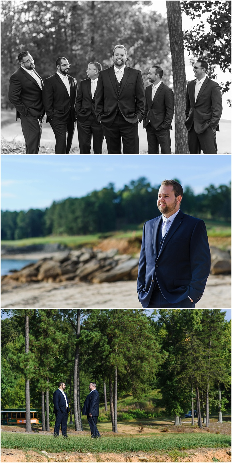 We made our way down to the beach for some portraits of the groom