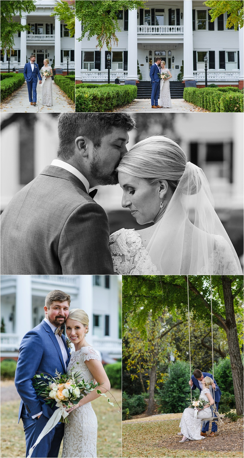 some other creative bride and groom portraits